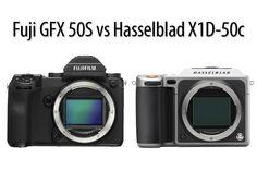 Fuji GFX 50S vs Hasselblad X1D-50c