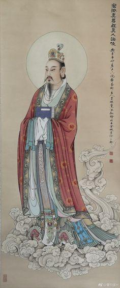 Illustration Art, Illustrations, Yogyakarta, Chinese Art, Japanese Art, Traditional Art, Vietnam, Buddha, Spirituality