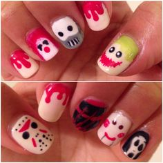 Killer Halloween nails by: www.Syna-style.blogspot.com