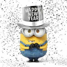 New Year minion