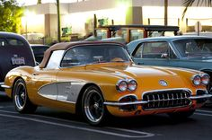 1959 Chevrolet Corvette (by Pat Durkin - Orange County, CA)