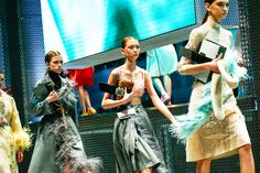 Miuccia Prada showed her spring 17 collection during Milan Fashion Week and made us think