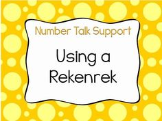 This video provides an overview of rekenreks, a math tool that can be used for representing numbers, subitzing, conservation of numbers, and decomposing numb. 1st Grade Math Games, First Grade Math, Grade 1, Second Grade, Fun Math, Math Activities, Maths, Math Stations, Math Centers