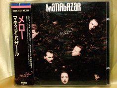 CD/Japan- MATIA BAZAR Melo w/OBI RARE ORIGINAL 1988 K32Y-2132 OOP  #ItalianPop