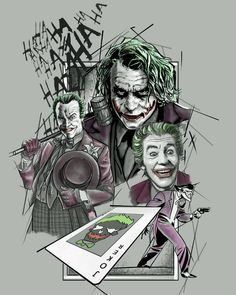 Joker Comic, Joker Art, Batman, Joker And Harley Quinn, Dark Knight, Gotham, Jokes, Marvel, King