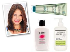 Allison Hatfield, Managing Editor | Best Drugstore Makeup and Beauty Bargains | I've used Olay and Neutrogena facial products since high school, and my aesthetician raves about my clean skin and tiny pores