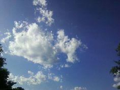 A little cloudy