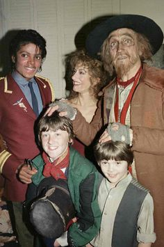 Michael and some performers