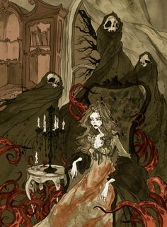 """""""Nightmares of the Alchemist's Wife"""" by Abigail Larson"""