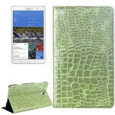 For+Tab+S+8.4+Green+Crocodile+Texture+Flip+Leather+Case+with+Holder