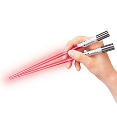 "These ""Lightsaber Chopsticks."" 