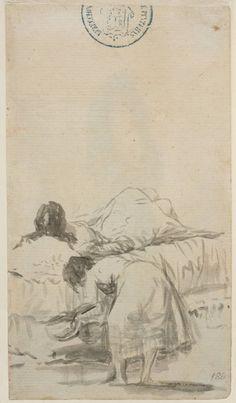 Goya en El Prado: La siesta Francisco Goya, Figure Sketching, Figure Drawing, Rembrandt, Illustrations, Illustration Art, Prado, Drawing Sketches, Drawings