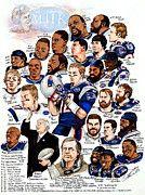Tom Brady Art - New England Patriots by Dave Olsen