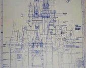 disney blueprints on Etsy, a global handmade and vintage marketplace.