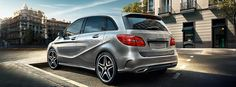 Mercedes-Benz.  The new generation B-Class.Attractive and desirable, functional and spacious.