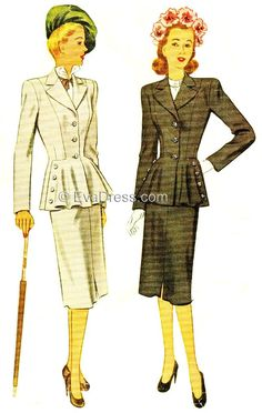 1947 Two-Piece Suit SE40-6777