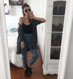Taper : Jeans & Denim for Women : Target Fall Winter Outfits, Spring Outfits, Trendy Outfits, Cute Outfits, Look Fashion, 90s Fashion, Fashion Outfits, Womens Fashion, Mom Jeans Outfit