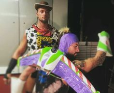 they looked so adorable on the halloween episode of raw love them both to infinity