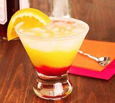 Tequila sunrise sans alcool