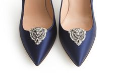 Jewelry for Your Shoes - Shoe clips at J Crew.