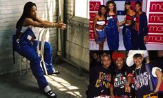 Tommy Hilfiger. The Decades of Hip Hop Fashion – The Late 90's to Early 2000's | THE 5TH ELEMENT MAGAZINE. Too many pieces of clothing to name, dresses, tops, jeans, etc.