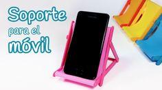 Manualidades: SOPORTE para el MOVIL (silla de playa) - Innova Manualidades