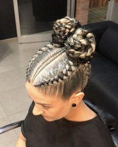 She Used Flat Twists To Create Fabulous Summer Curls On Short Natural Hair - Hair Styles Box Braids Hairstyles, Girl Hairstyles, Hairstyle Ideas, Latest Hairstyles, Hairstyle Pictures, Hairstyles 2016, Formal Hairstyles, Braided Hairstyles For School, Shaggy Hairstyles