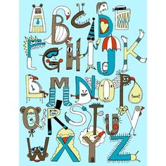 Another alphabet. Make yours.