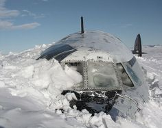 Abandoned plane. Amazing! Wonder who crashed it. And whats there story?