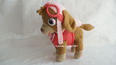 Amigurumi /// Amojunn - Amigurumi - Leads For Amigurumi Crochet Animals, Crochet Toys, Crochet Baby, Free Crochet, Amigurumi Doll, Amigurumi Patterns, Crochet Patterns, Amigurumi Tutorial, Sky Paw Patrol