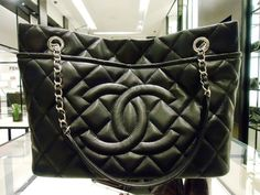 Chanel Black Timeless CC Soft Hobo Bag