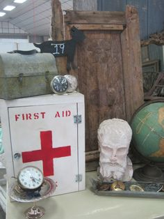 vintage first aid