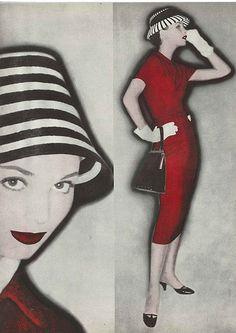 Elsa Martinelli, February Vogue 1955