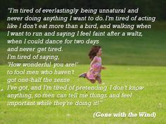 Ahhh, Scarlett O'Hara! (Gone with the Wind)