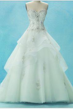 Disney Princess Wedding Dress yes please!
