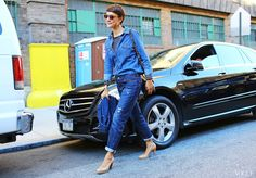NYFW 2014 VOGUE - The Ghent Chronicles / streetstyle