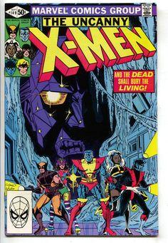 Uncanny X-Men 149 Marvel 1981 VF Wolverine Colossus Cyclops Magneto