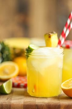 Pin for Later: 12 Fresh Twists on Classic Lemonade Pineapple Lemonade Get the recipe: pineapple lemonade