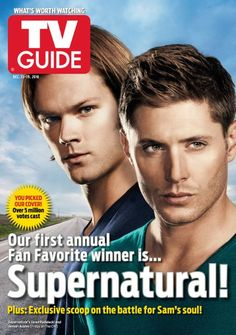 Supernatural Magazine Cover Photos - List of magazine covers featuring Supernatural