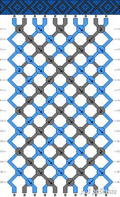 Схема фенечки 18115