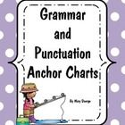 These grammar and punctuation anchor charts are geared for Kindergarten and First Grade. I use the charts when introducing the topic, for review an...