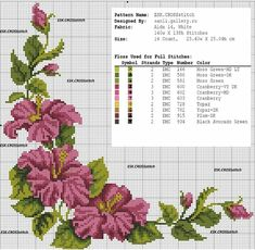 This post was discovered by ne Cross Stitch Boarders, Cross Stitch Rose, Cross Stitch Flowers, Cross Stitch Charts, Cross Stitch Designs, Cross Stitching, Cross Stitch Embroidery, Cross Stitch Patterns, Hand Embroidery Designs