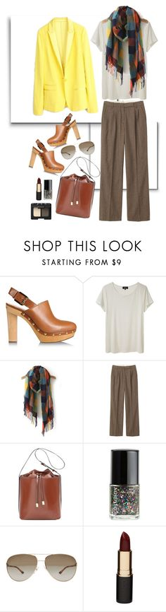 """""""49"""" by greeneye242 ❤ liked on Polyvore featuring MICHAEL Michael Kors, Zadig & Voltaire, A.P.C., Toast, Nordstrom, STELLA McCARTNEY, Mimco and NARS Cosmetics"""
