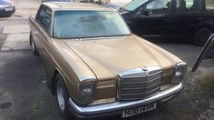 eBay: 1974 Mercedes 280ce coupe rare barn find tax exempt ? Low owners low miles