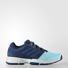 1fdd7b4abcf25 Adidas Barricade Club Womens Shoes Mystery Blue Core Blue Clear Aqua Bb4825