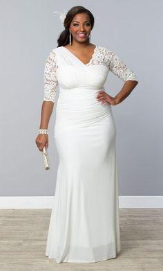 Plus Size Short Wedding Dresses | Plus Size Casual Short Ivory ...