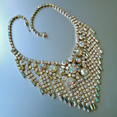 I Need A Bib........VJSE GROUP TEAM Vintage High End Collectible Bib Necklaces by MartiniMermaid on Etsy