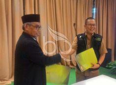 Baznas Gelar Penganugrahan Zakat Untuk Pemkot Bogor