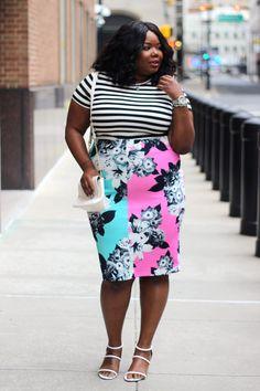 5b9275ad7f1 Florals and Stripes. Geneva Bradshaw · Plus More +Fashion