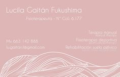 Lucila Gaitán Fukushima - Physiotherapist on Behance